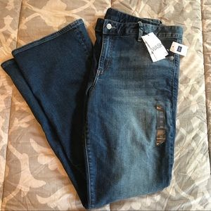 Gap Perfect Boot Cut Mid Rise Medium Wash Jeans 33